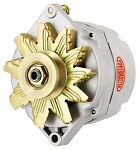 100 amp Powermaster Natural Finish Alternator 1966-1975 1