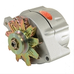 100 amp Powermaster Natural Finish Alternator 1975-1977 3