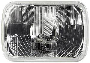 Cibie European Spec (E-Code) 200mm Rectangle Headlamp