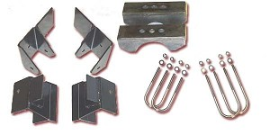 Front SOA and Rear Shackle Kit 1976-1988 J-truck Longbox