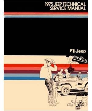 1975 Jeep Factory Service Manual