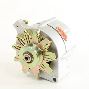 "150 amp Powermaster Natural Finish Alternator 1975-1977 3"" Mount"