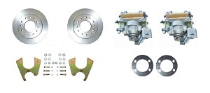 Rear Disc Brake Conversion Kit 6-lug